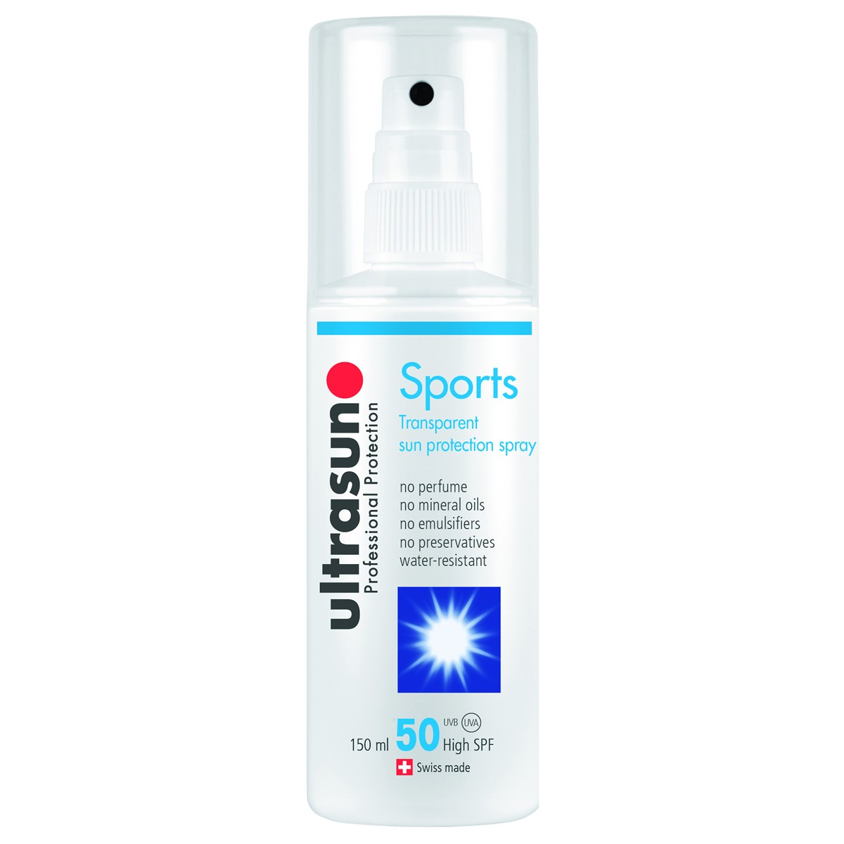 Ultrasun Sports Transparent Sun Protection Spray SPF50