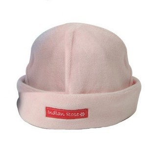 Elephant Velour Baby Hat - 6-9 months