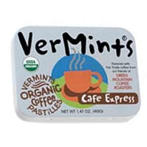 VerMints Organic Coffee Pastilles - Cafe Express