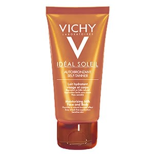 Vichy Capital Ideal Self-Tanner Soleil Moisturising Milk for Face & Body