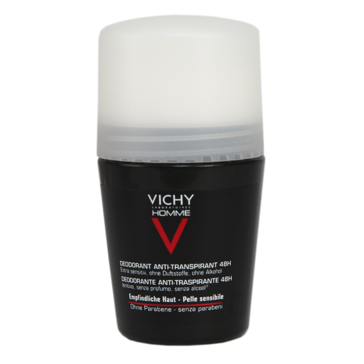 Vichy Homme Deodorant Roll-on 48Hr
