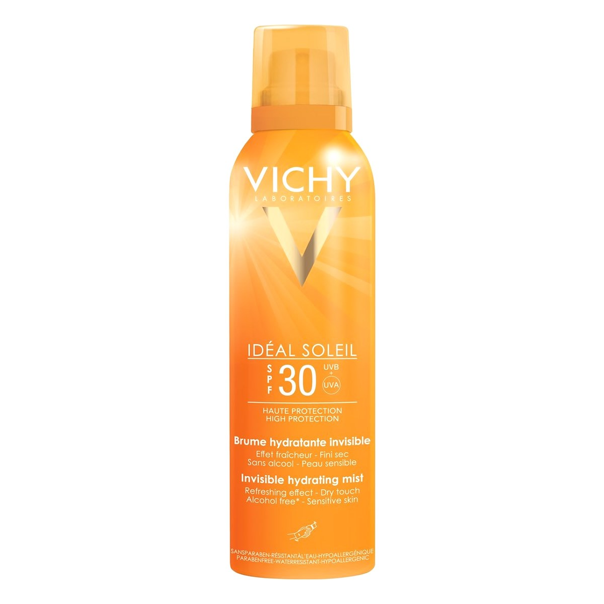 Vichy Ideal Soleil Invisible Hydrating Mist SPF30