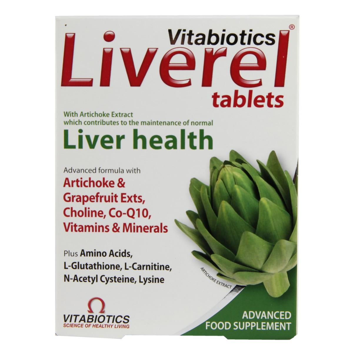 Vitabiotics Liverel Avogel Cynara 50ml