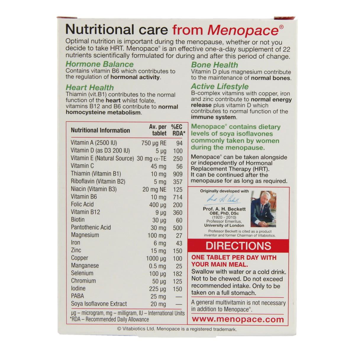 Vitabiotics Menopace Original