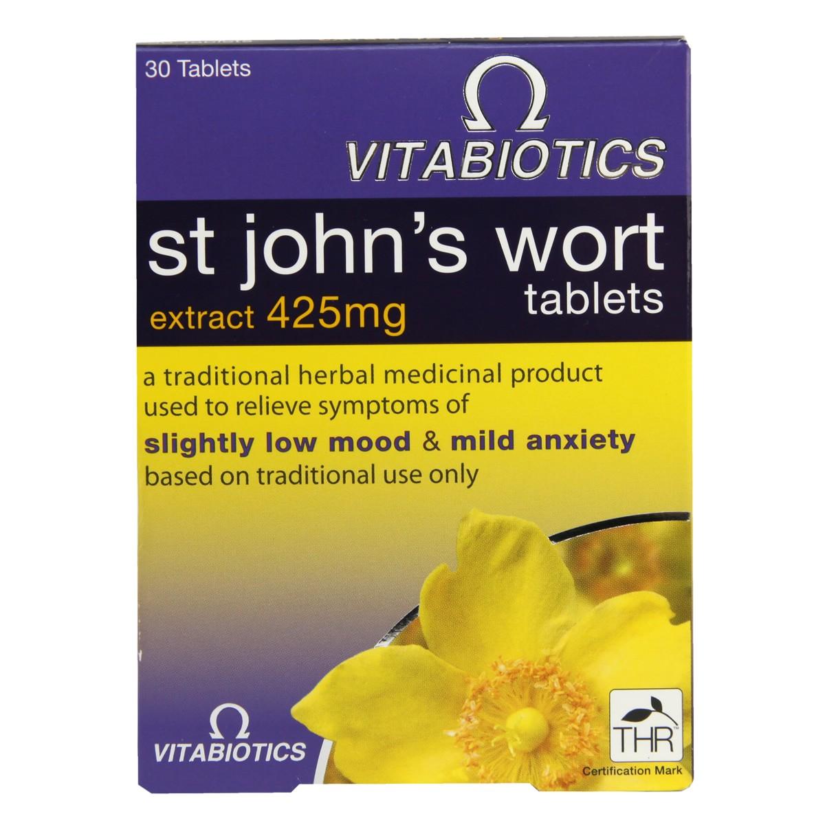 Vitabiotics St John`s Wort