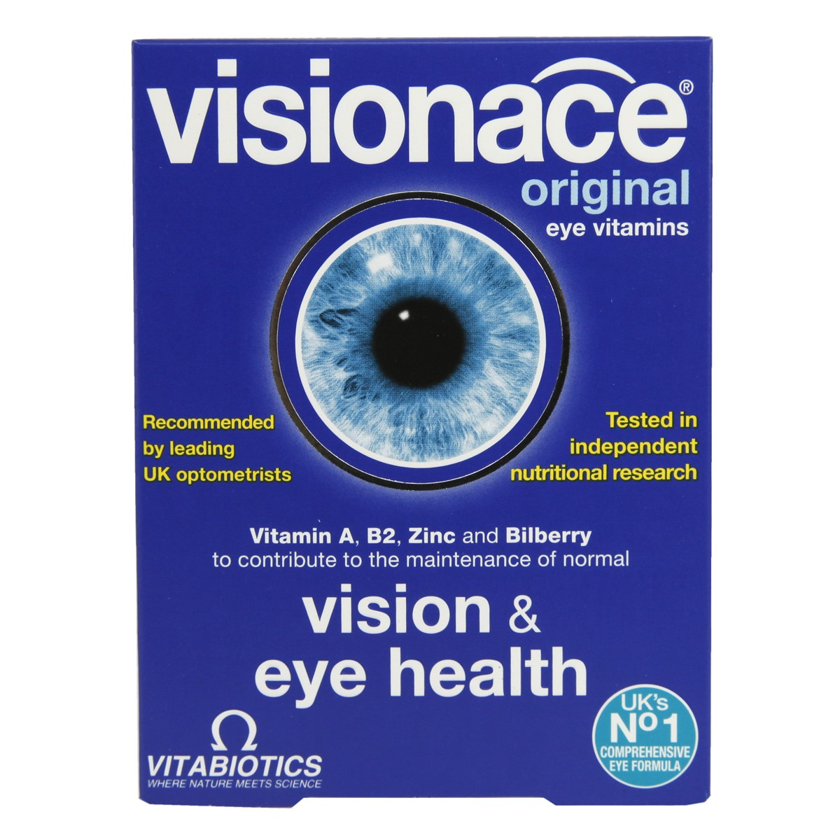 Vitabiotics Visionace Tablets