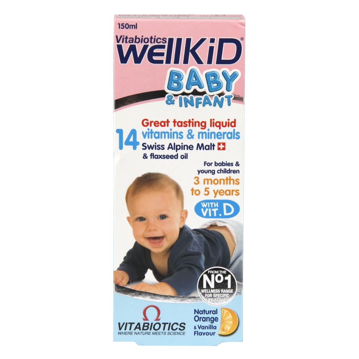 Vitabiotics WellBaby & Infant Liquid
