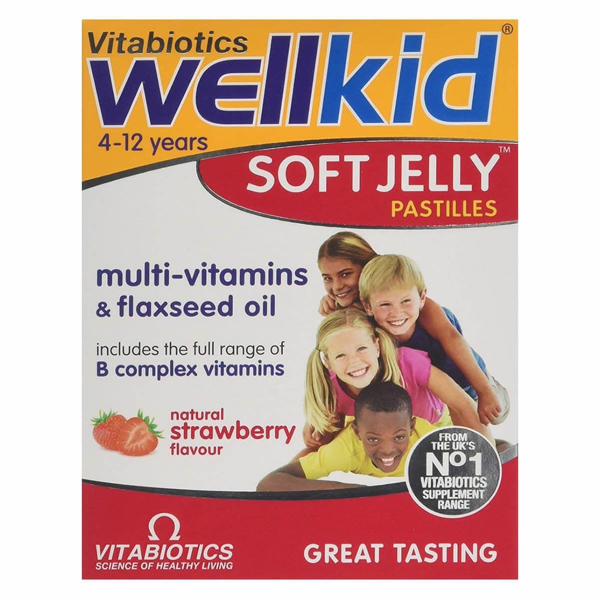 Vitabiotics WellKid Soft Jelly 30 Pastilles