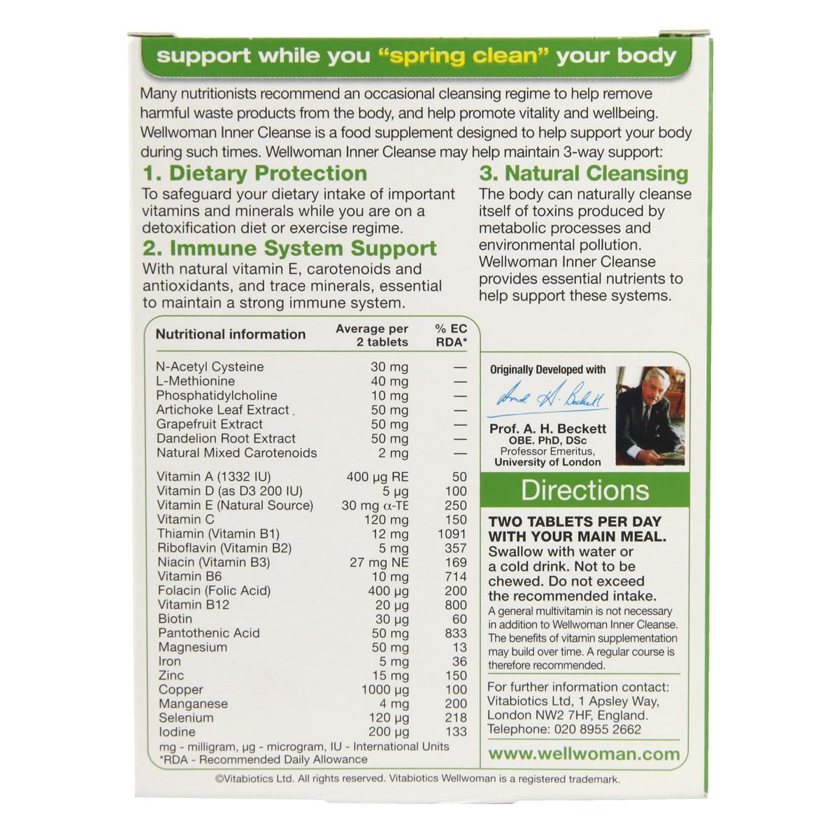Vitabiotics Wellwoman Inner Cleanse