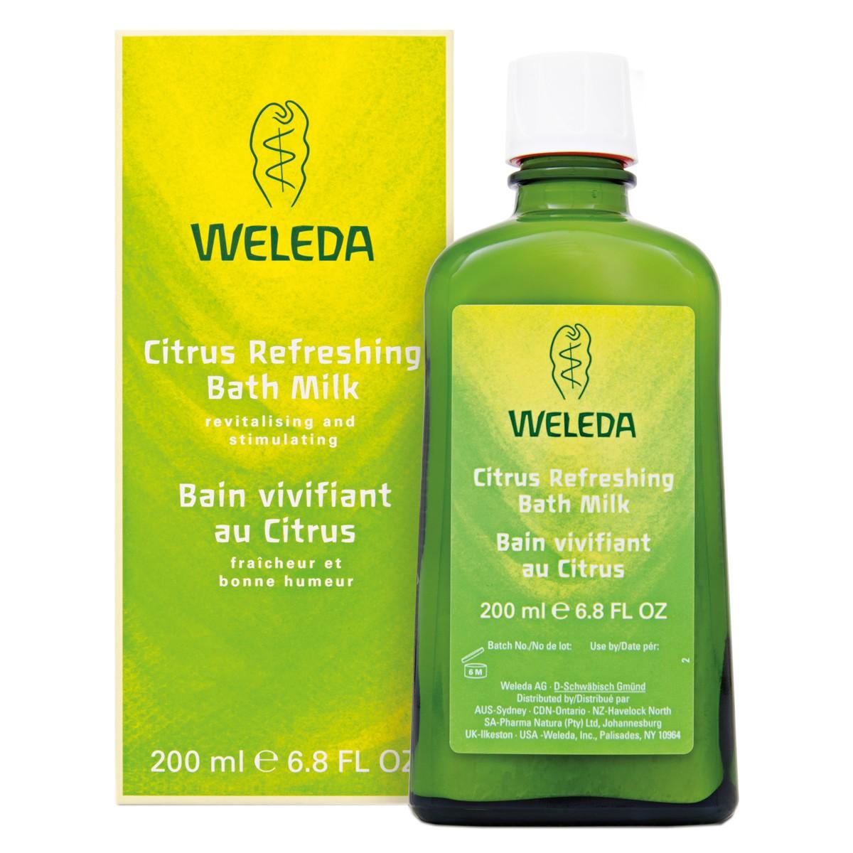 Weleda Citrus Refreshing Bath Milk