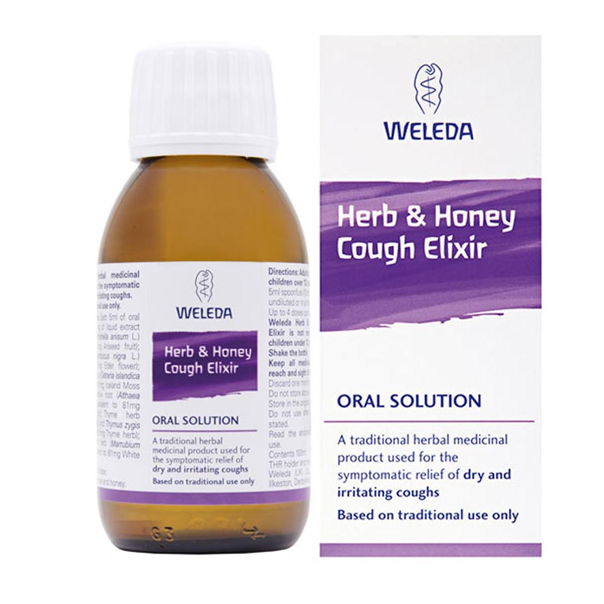 Weleda Herb & Honey Cough Elixir