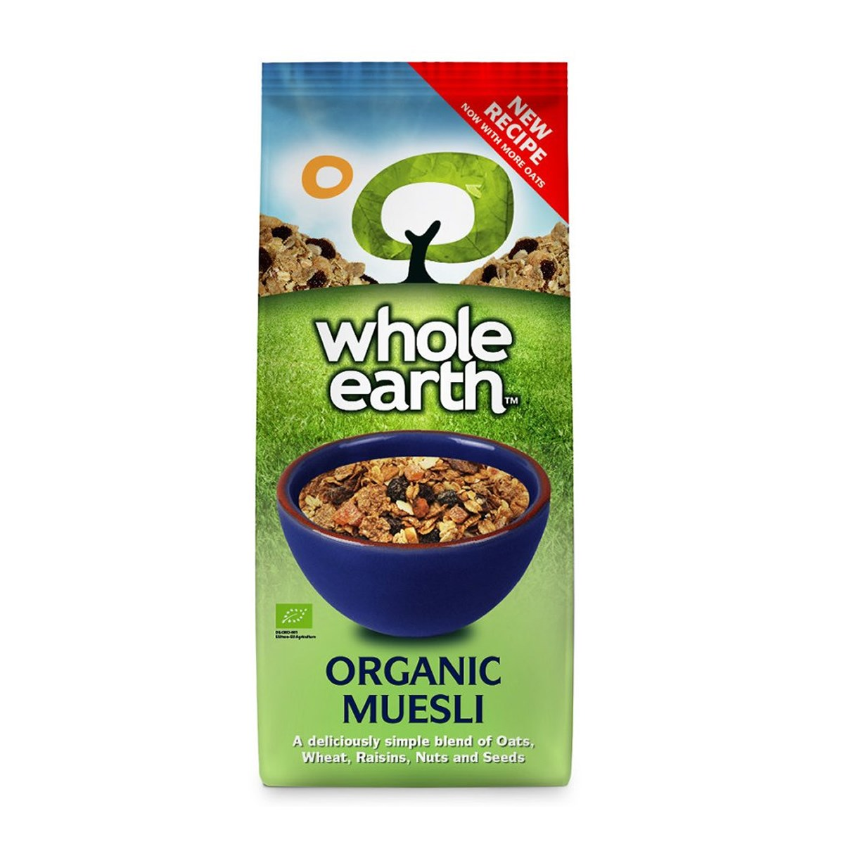Whole Earth Organic Muesli Swiss Style