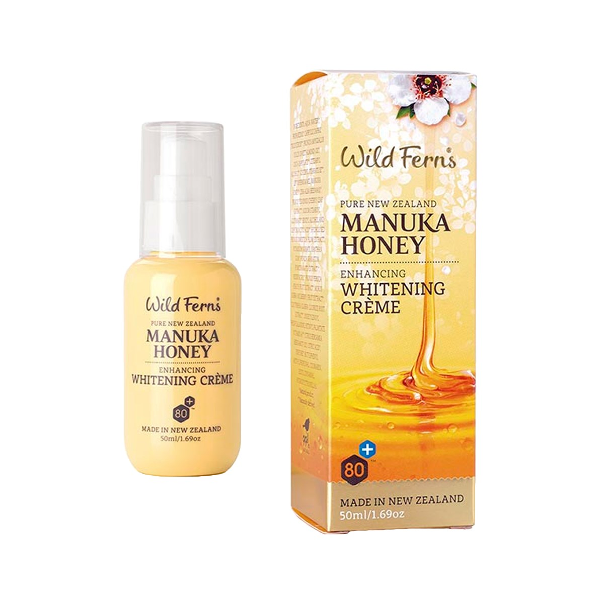 Wild Ferns Manuka Honey Enhancing Whitening Creme