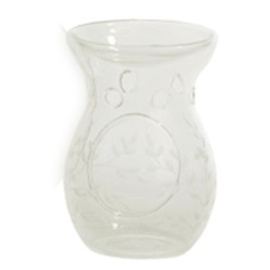 Yankee Candle Accessories - Etched Crackle Clear Tart Burner