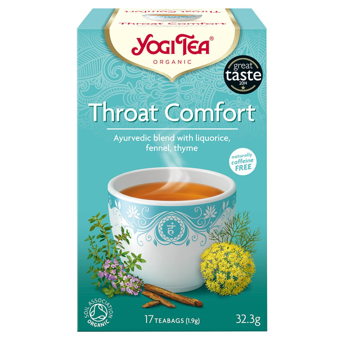 Yogi Tea Organic Throat Comfort Tea