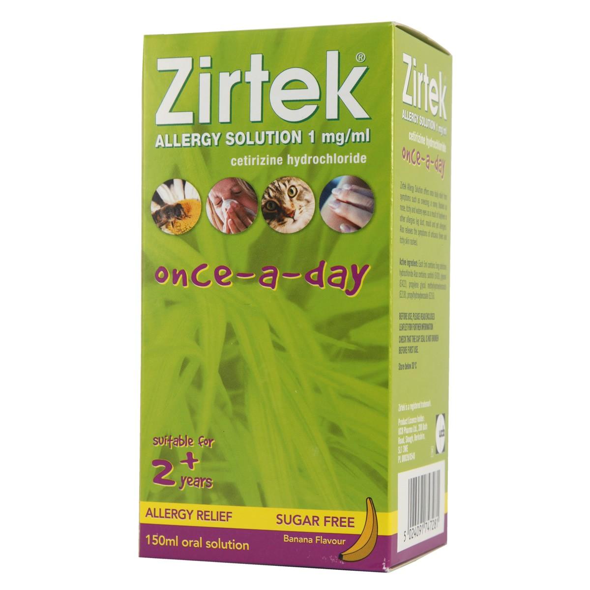 Zirtek Allergy Solution Once-a-Day