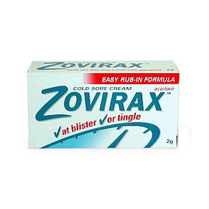 Zovirax Cold Sore Cream Tube