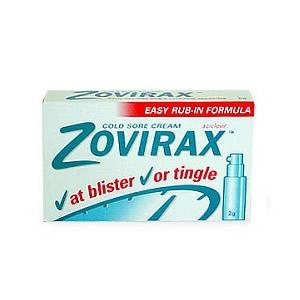 Zovirax Cold Sore Cream Pump